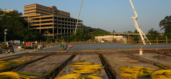 The Rise of Elevated, Post-Tensioned Concrete Slab Systems - Beyond