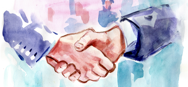 the power of shaking hands beyond the build stewart perry